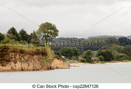 Stock Photo of Beautiful seascape of northern Spain.