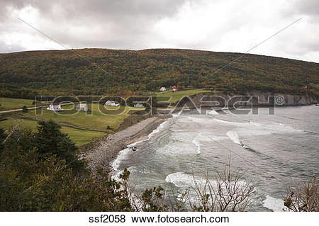 Pictures of Autumn rural scene on the most northern tip of Cape.