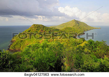 Stock Photo of The northern tip of the island Grande.