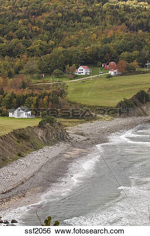 Stock Images of Farm on the most northern tip of Cape Breton, near.