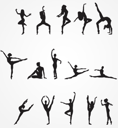 Soul Line Dancing Clipart.