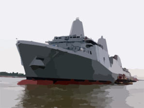 The Amphibious Transport Dock Ship Pre.