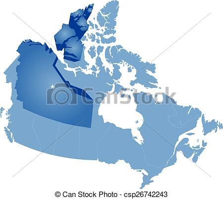 Northwest clipart map.