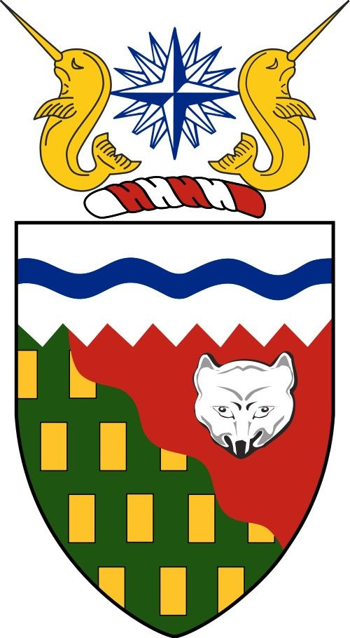 Coat of Arms of the Northwest Territories.