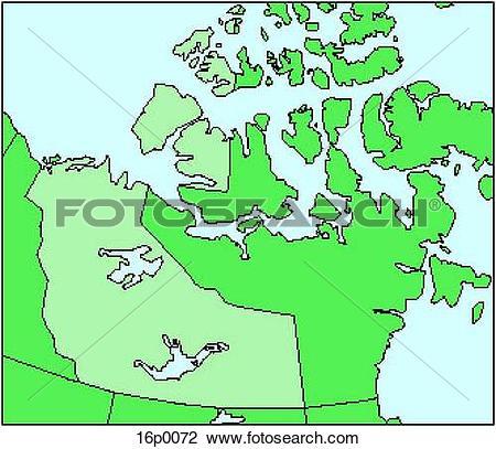 Clipart of Northwest Territories 16p0072.