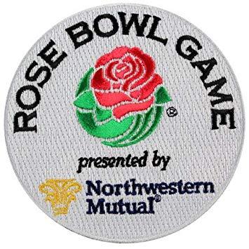 Amazon.com: Yibuoo Northwestern Mutual Rose Bowl Embroidered.