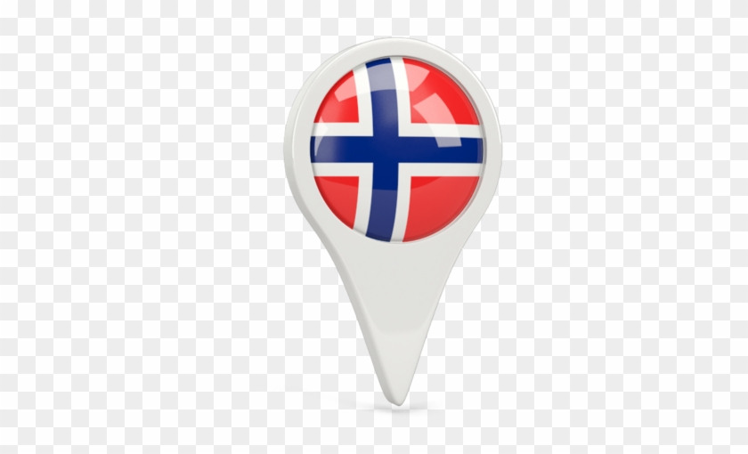 Illustration Of Flag Of Norway.