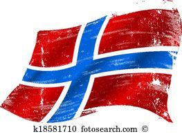 Norwegian flag Clip Art Illustrations. 595 norwegian flag clipart.