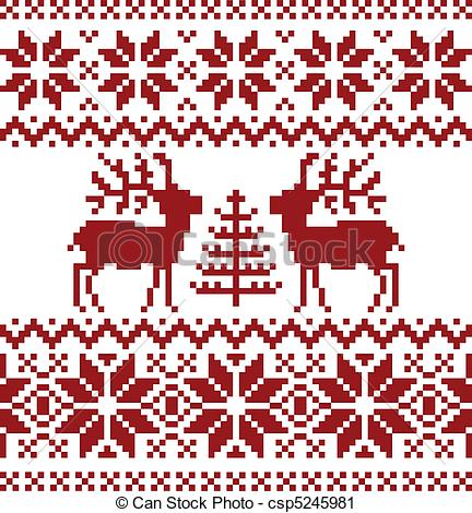 Norwegian Christmas Clipart.