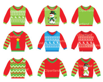 Sweaters clipart.