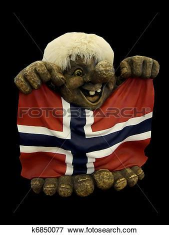 Picture of Norwegian troll k6850077.