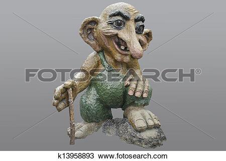 Stock Photo of norwegian troll k13958893.