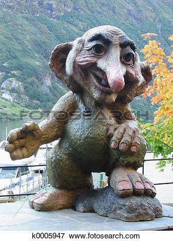 Picture of Norwegian Troll k0005947.