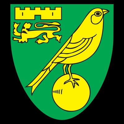 Norwich City Logo transparent PNG.