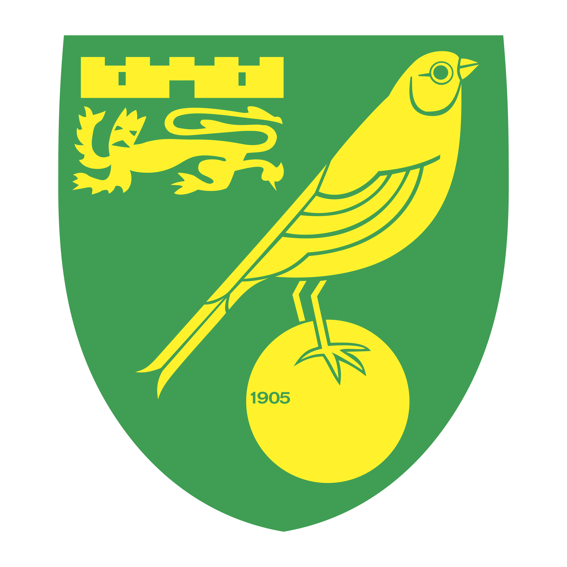 Norwich City FC Logo PNG Transparent & SVG Vector.
