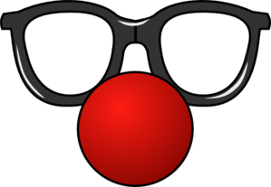 Clown Nose With Glasses Clip Art at Clker.com.