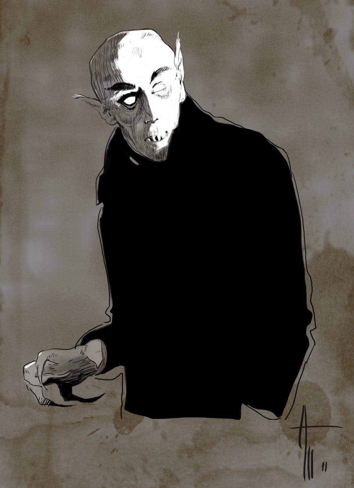 Nosferatu Clip Art.