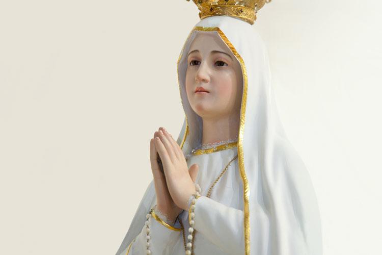 Novena a Nossa Senhora de Fátima.