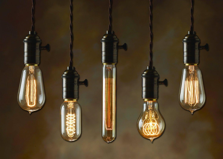 Edison Bulb Light Ideas: 22 Floor, Pendant, Table Lamps.