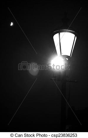 Stock Images of Light, Moon and Stars.