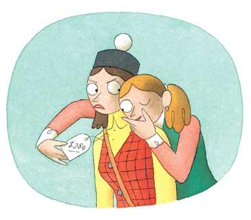 Clip Art Nosy Person.