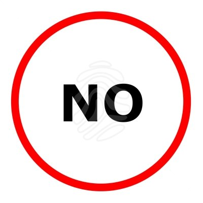 sign of no clipart clipground