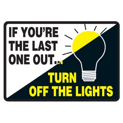 Switch off lights when not in use clipart.