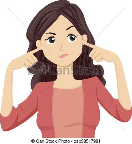Not listening Illustrations and Clip Art. 183 Not listening.