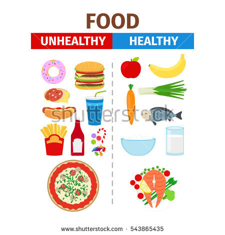 Unhealthy Food Stock Images, Royalty.