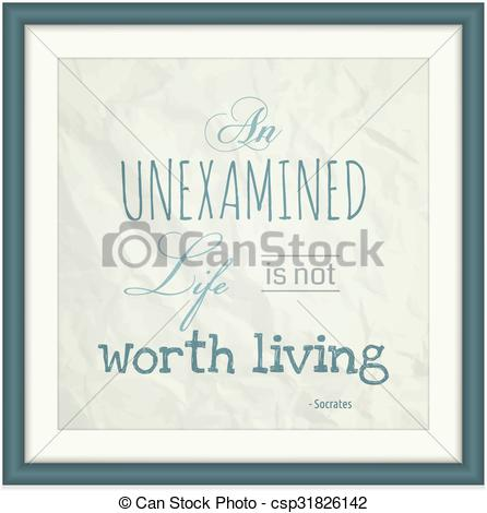 EPS Vector of An Unexamined Life is Not Worth Living.