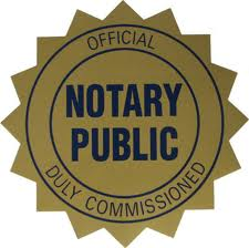 Notary Services.