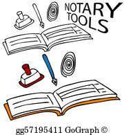 Notary Clip Art.