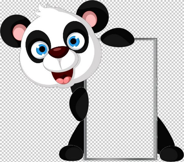 Frames notches Clipart 10 PSD with cartoon animals free download.