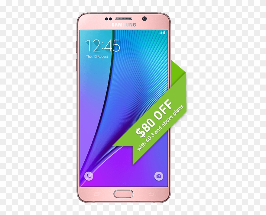 Samsung Galaxy Note 5 (n9208 32gb 4g Lte) Mobile Clipart.