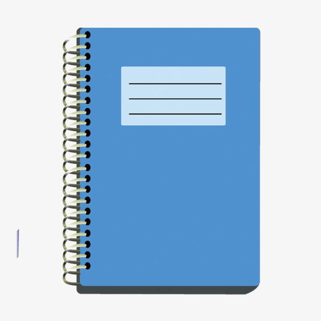 Notebook Clipart Png & Free Notebook Clipart.png Transparent.