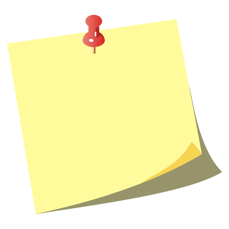 Download Free png Sticky Note Clipart.