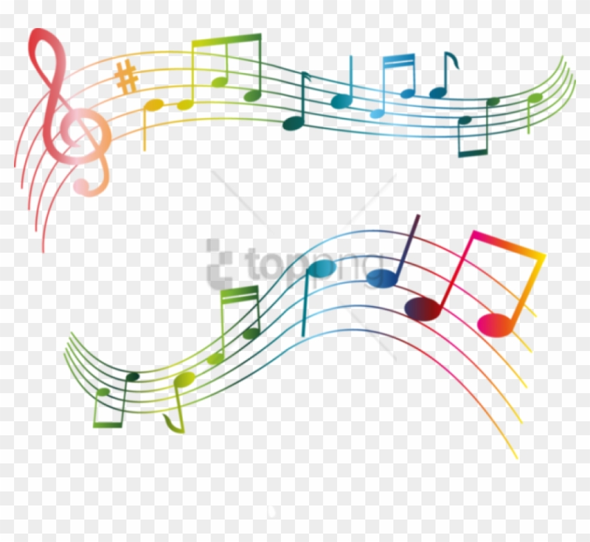 Free Png Color Music Notes Png Png Image With Transparent.