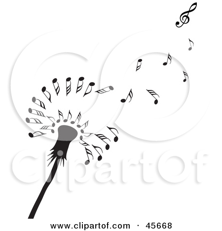 Royalty Free Stock Illustrations of Music Notes by Michael.