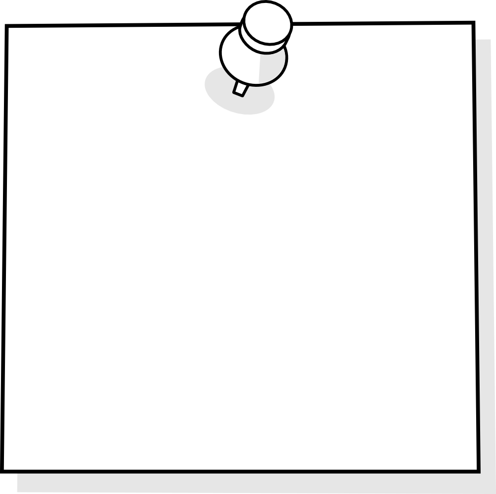 Clipart note paper.