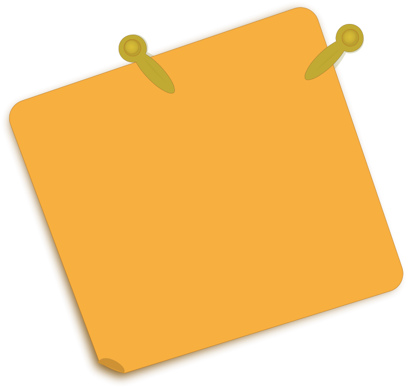 Free Clipart: Note Paper.