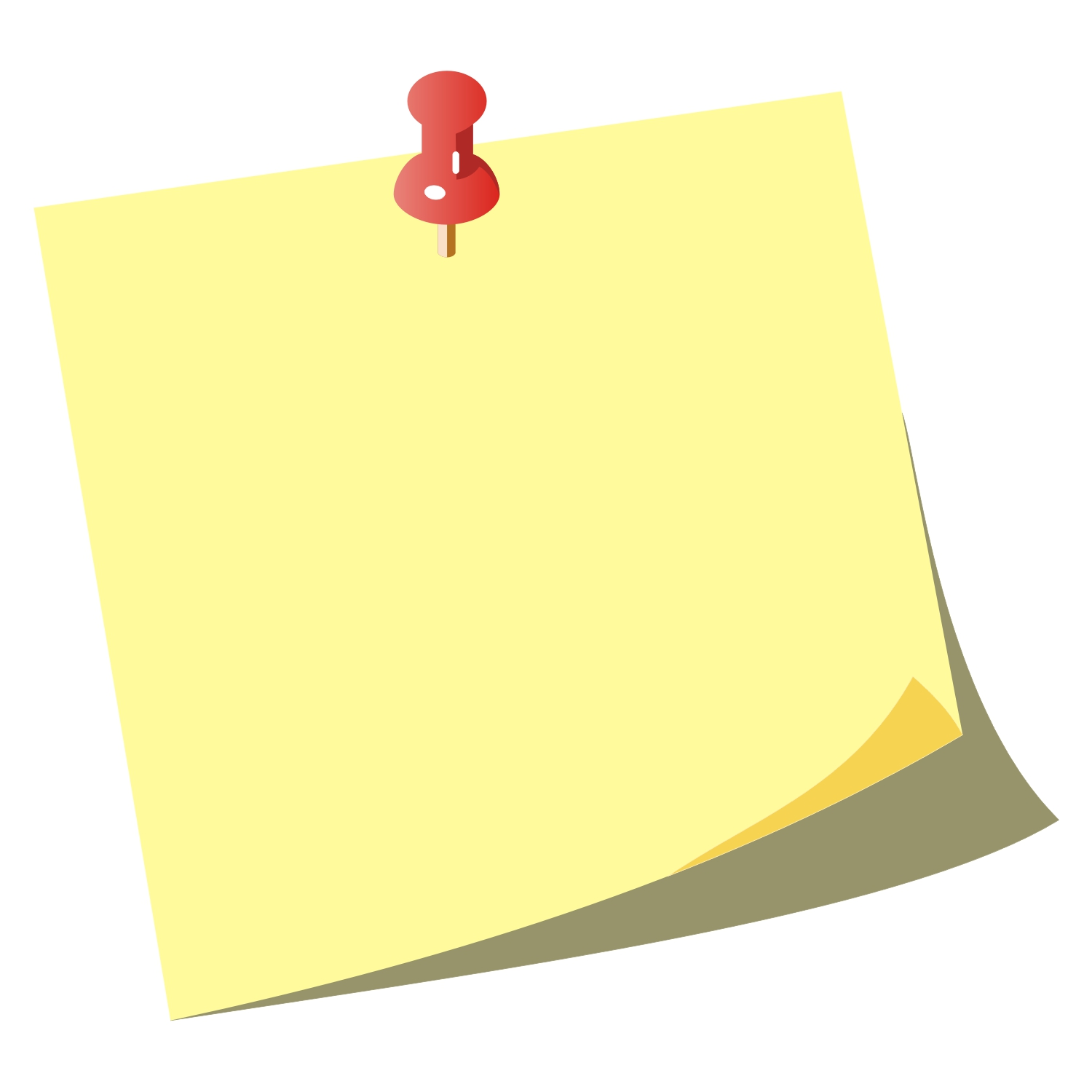 Note Paper Clipart#2154768.