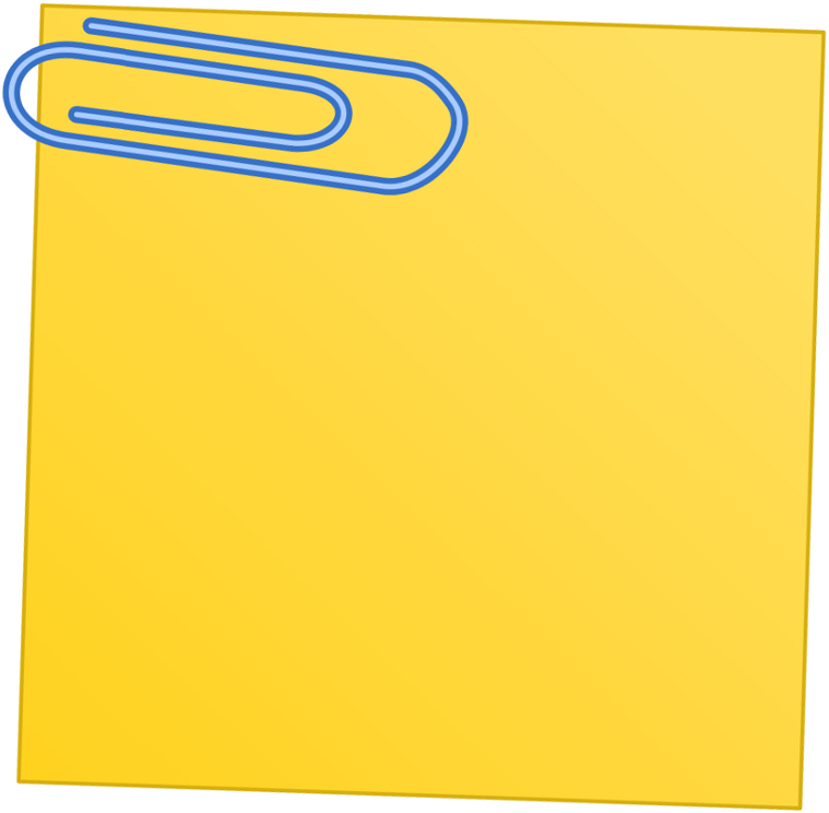Note paper clipart.