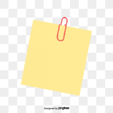 Note Paper PNG Images.