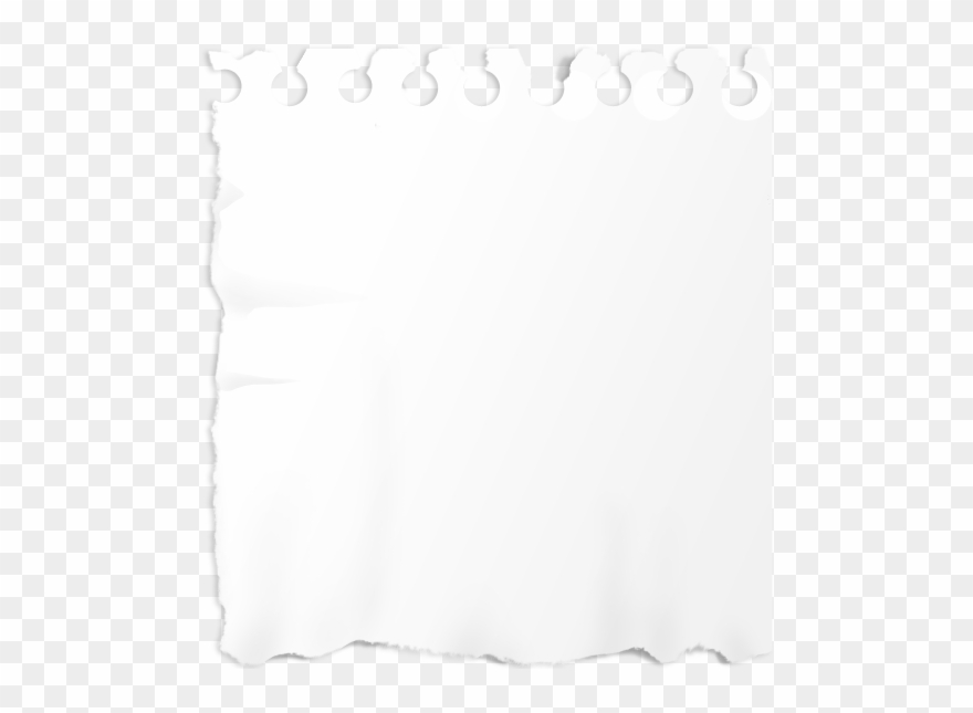 Ripped White Paper Png.