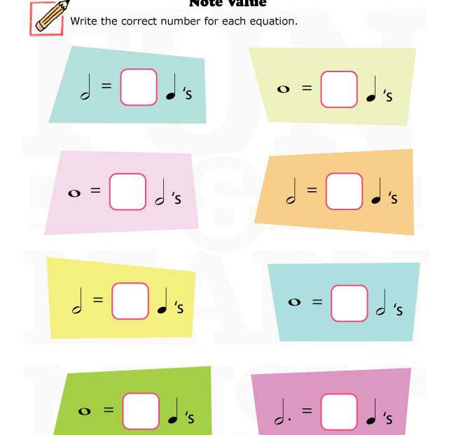 1000+ images about Note Value on Pinterest.