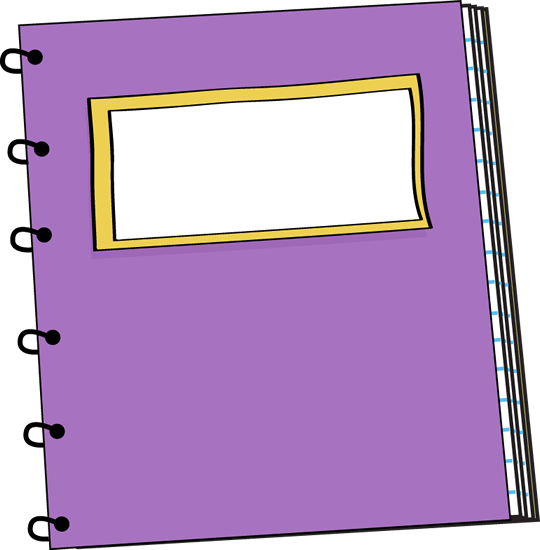 Notebook Clipart.