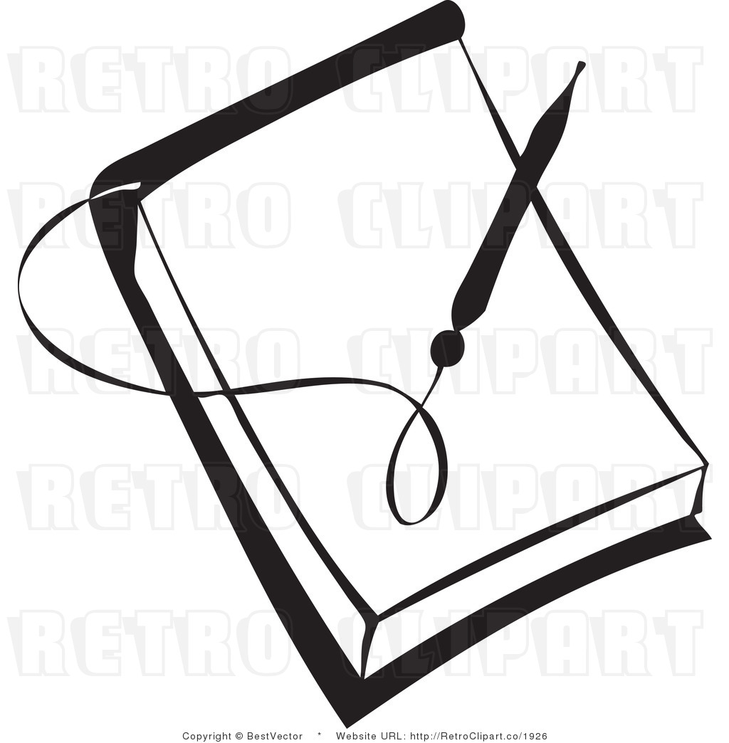 Notebook Clipart Black And White Clipground