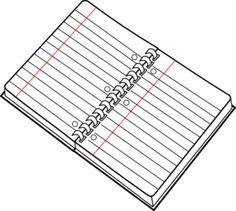 Lined Paper Vector Clip Art at Clker.com.