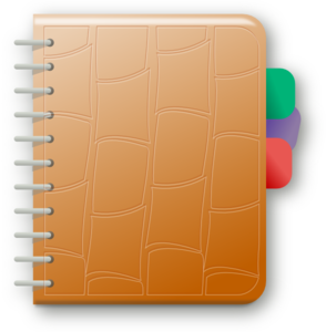 Notebook Clip Art at Clker.com.