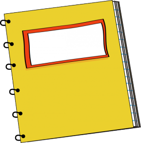 Journal Free Notebook Clipart Public Domain Notebook Clip Art.